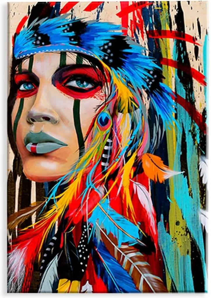 Tela  Love Decor Decorativa Wevans Índia Apache Vermelho