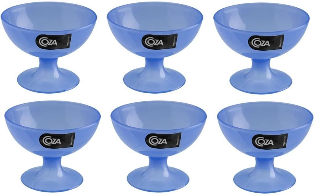 Taça para Sobremesa Coza 150Ml Cozy - 6 unidades - Azul