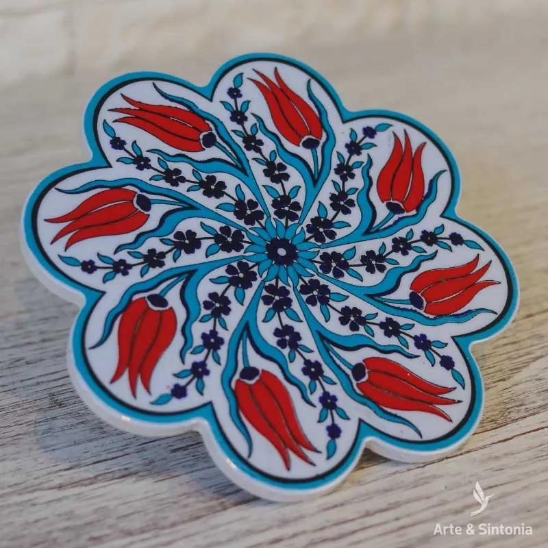 Descanso p/ Panela Turco | Cerâmica