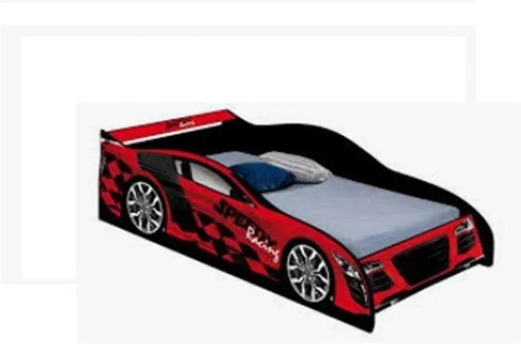 Cama Carro Speed Infantil Vermelho – J&A Móveis