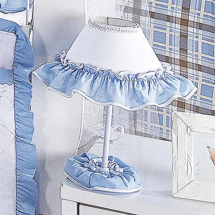 Abajur Eloy Azul