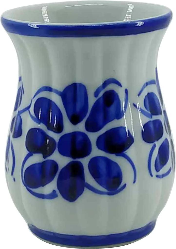 Copo de Porcelana Azul Colonial 200 ml