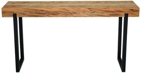 Aparador Auburn Tampo Peroba Rosa com Base Aluminio 1,50 MT (LARG) - 44686 Sun House