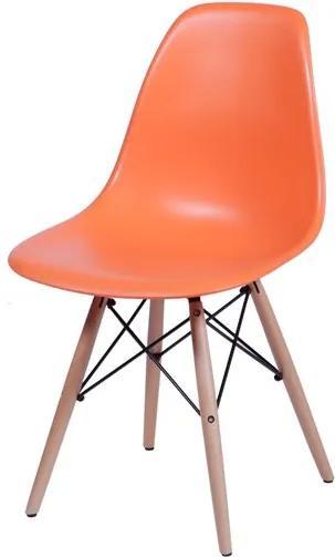 Cadeira Infantil Eiffel Eames DSW Laranja