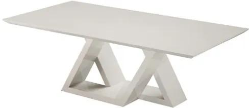 Mesa Jantar Conect Off White Brilhante 3,00 MT - 49779 Sun House