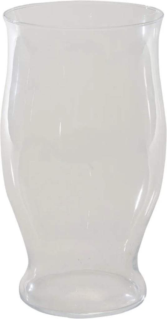 Castiçal Bianco & Nero Manche 24,5X14Cm Transparente