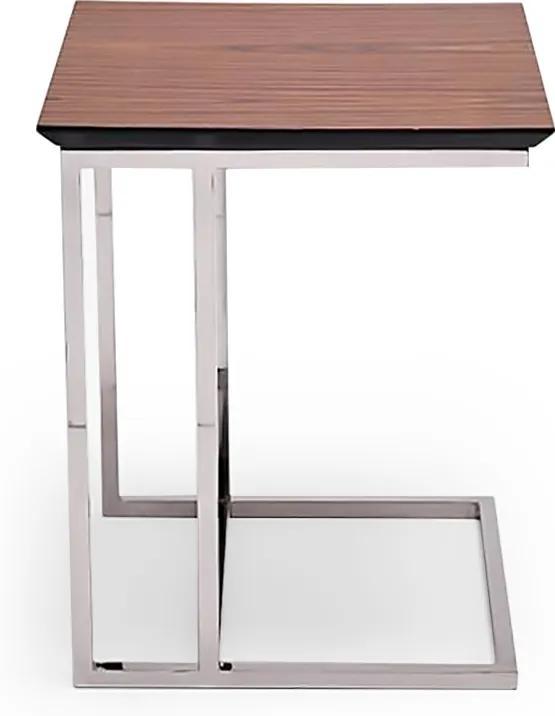 Mesa de Encaixe Paolo Tampo Laminado Aço Inox Design Exclusivo by Studio Artesian
