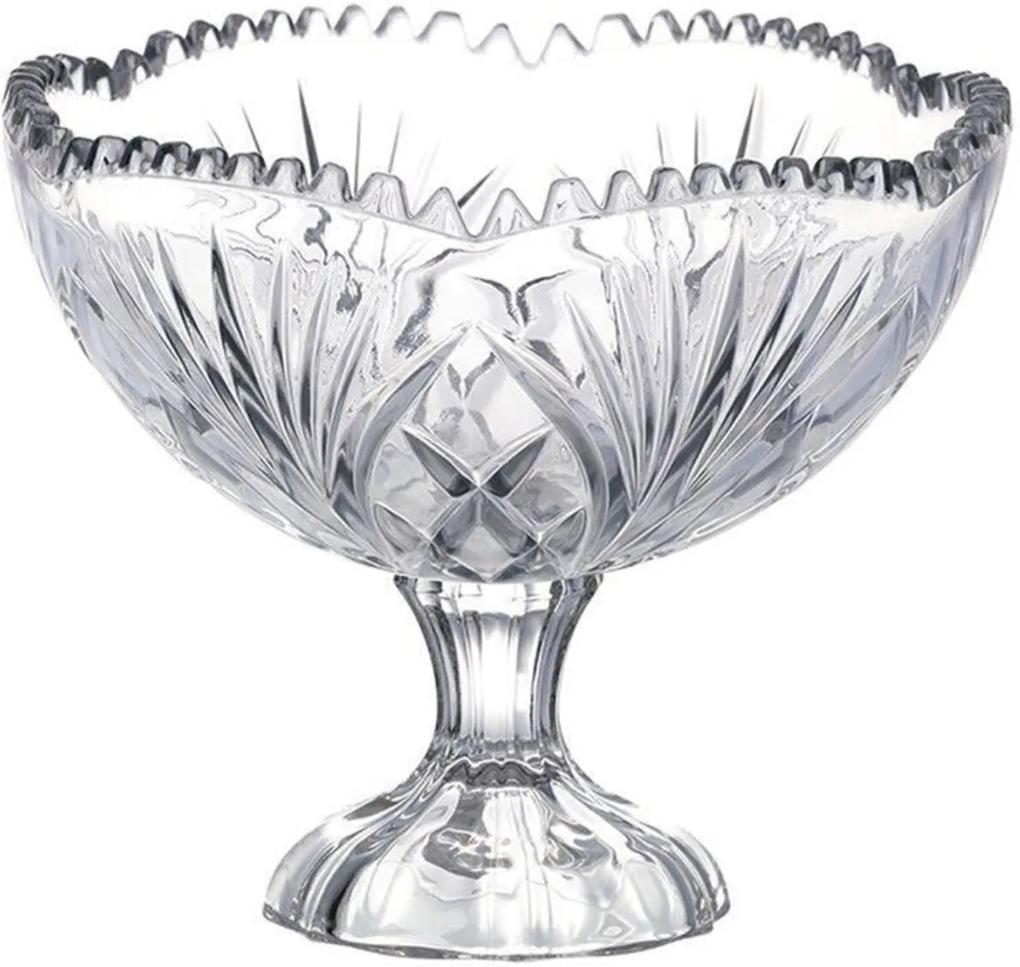 Taça Para Doce Transparente 22 Cm X 19 Cm
