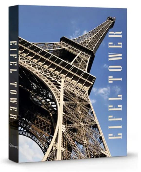 Livro Caixa Decorativo Eiffel Tower
