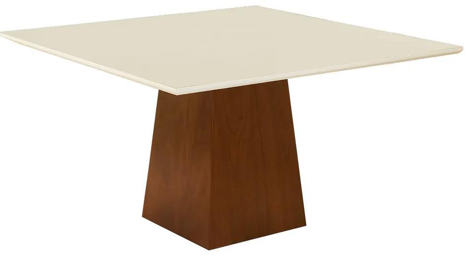 Mesa para Sala de Janta Luiza 1,35 m Off White - Rimac