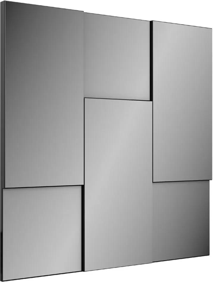 Espelho Escala 3d 90 cm Tb96 Preto Brilho - Dalla Costa