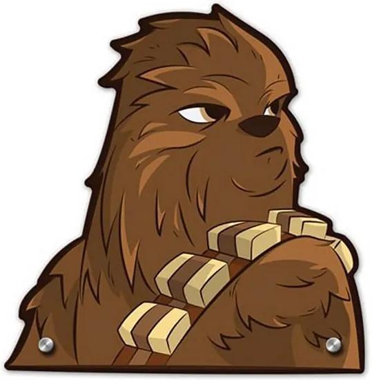 Cabideiro Gancho de Parede Chewbacca - Star Wars