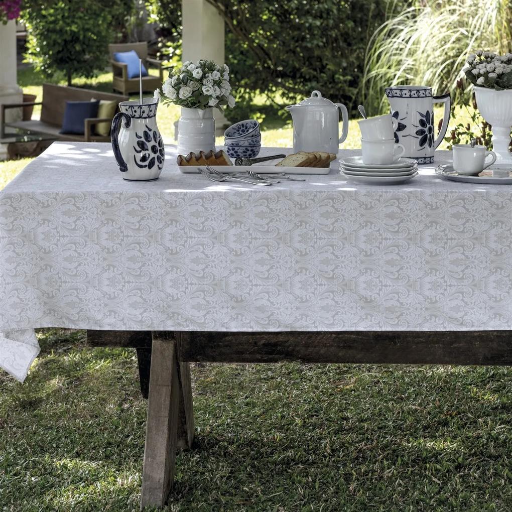 Toalha de mesa Retangular Impermeável 12 Lugares - Lanzi