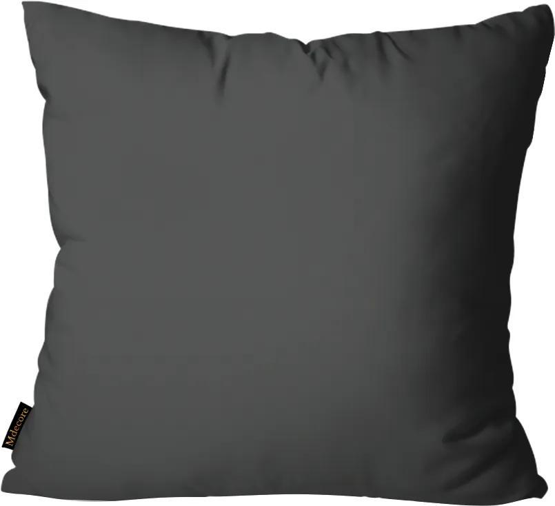 Almofada Mdecore Lisa Cinza55x55cm
