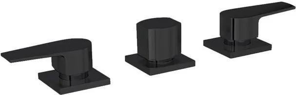 Misturador para Bidê Level Black Noir - 1895.BL26.NO - Deca - Deca