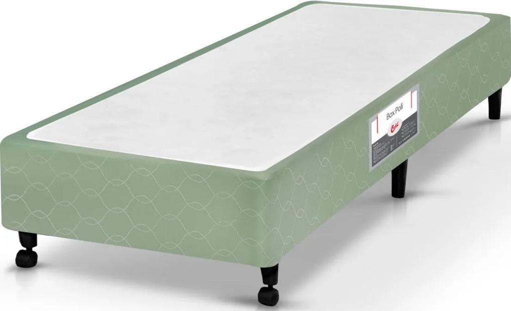 Box Solteiro 78X188X27 Poli Verde Castor