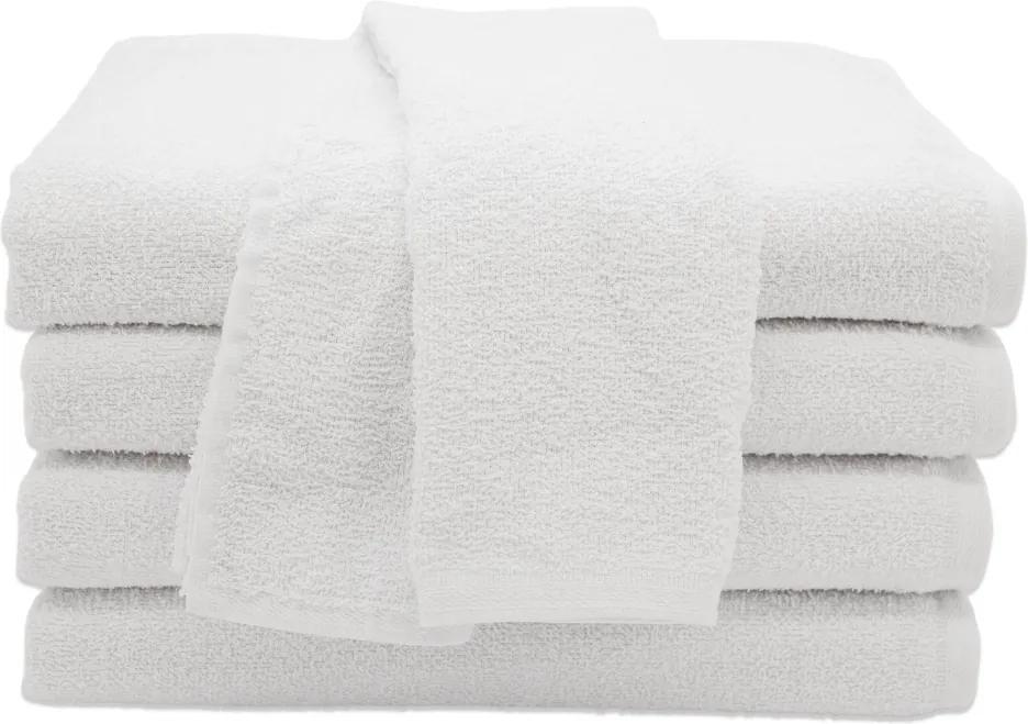 Toalha de Rosto para Salão de Beleza Branca - 45x70cm - Primata