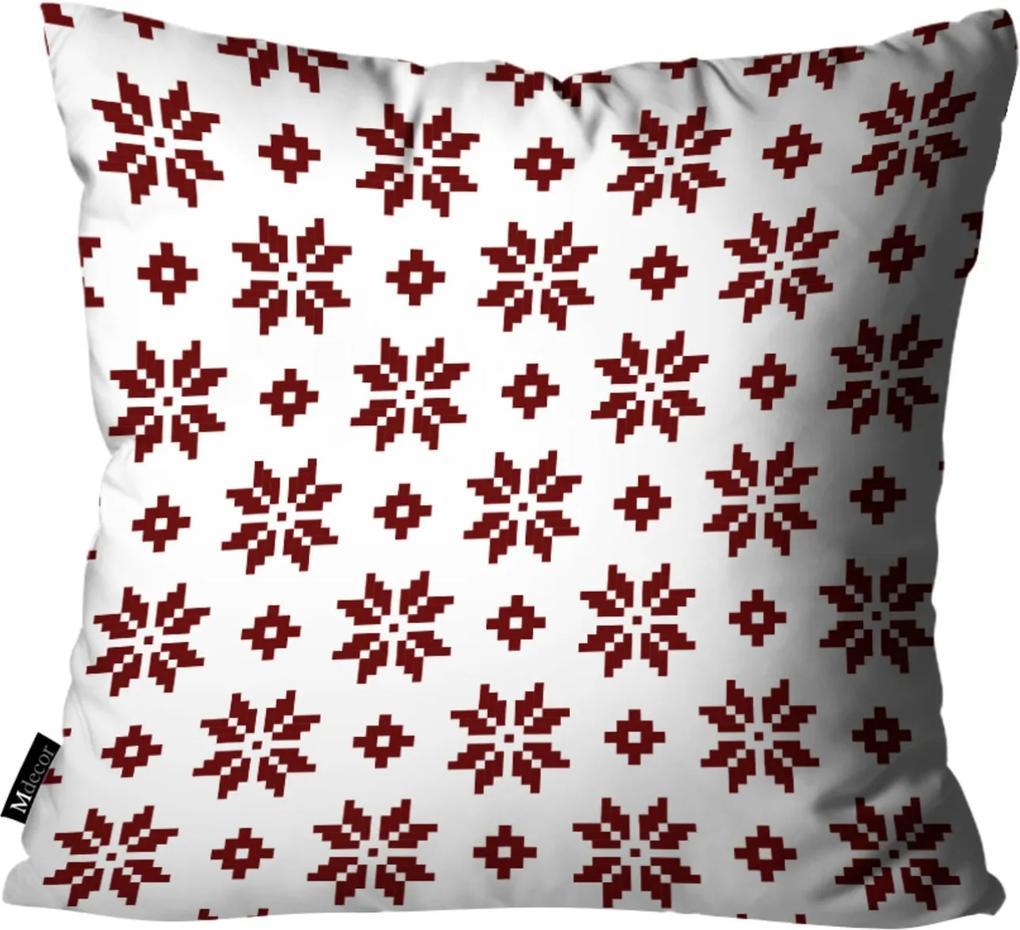 Almofada Mdecor de Natal 45x45cm Branco