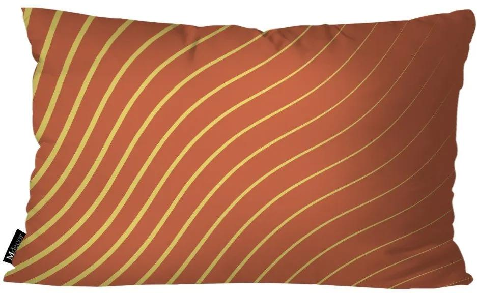 Almofada Abstrato 30x50cm Laranja30x50