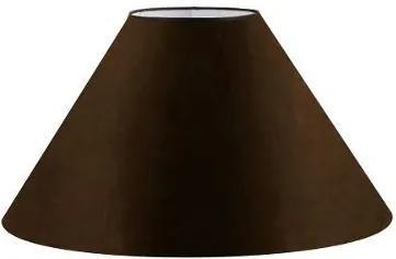 Cúpula em Tecido Cone Abajur Luminária Cp-4078 25/40x15cm Café