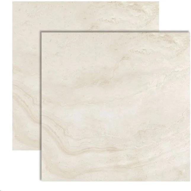 Porcelanato Pierre Belle Blanc Polido Retificado 120x120cm - 28084E - Portobello - Portobello
