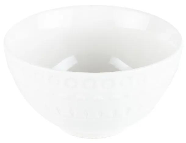 Jogo Bowl Porcelana Grace 6 Peças Branco 15cm 17577 Wolff