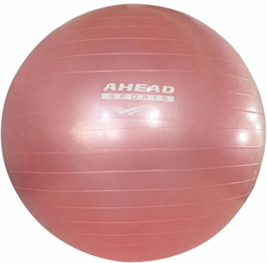 Bola Ahead Sports Para Pilates 55 CM Rosa