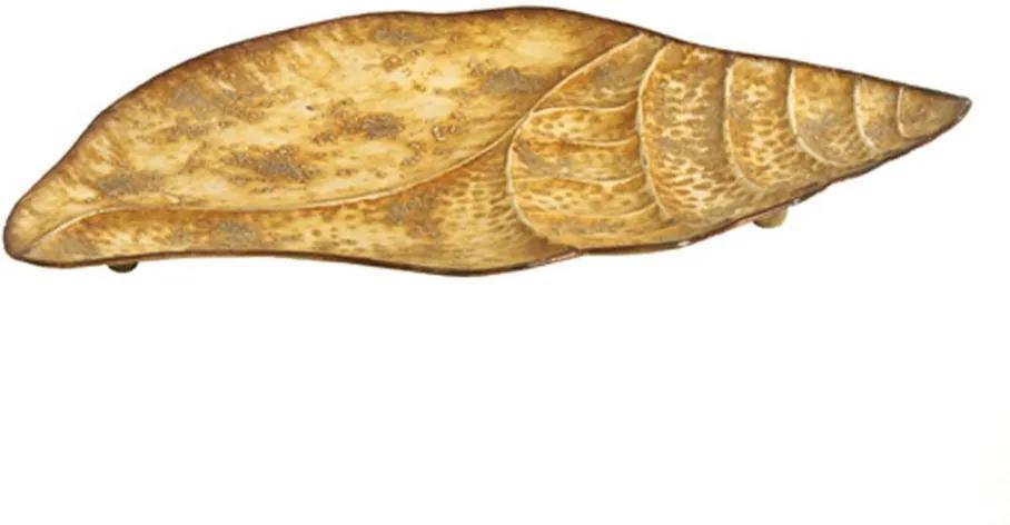 Folha Decorativa de Metal Brass Grande