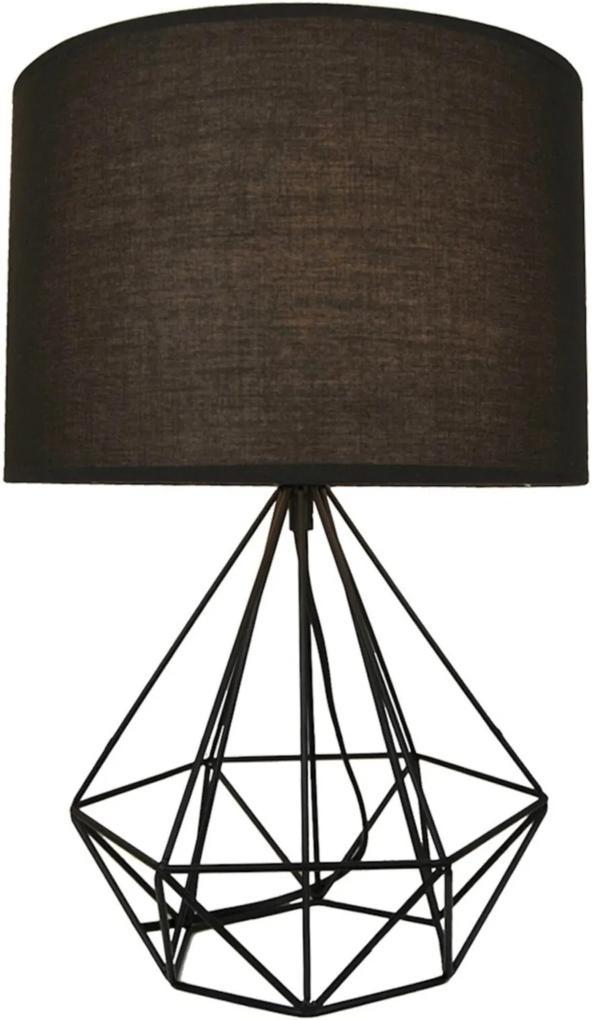 Abajur Lamp Show Údine Preto