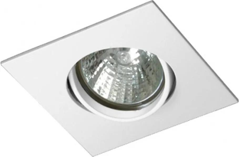 Embutido Direcional Quadrado Branco para Dicróica - Bella Luce - BL1400/1BF