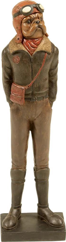 Estatueta Decorativa Dog Arquimedes