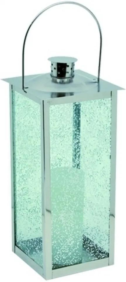 lanterna VITRINE metal cromado 43cm Ilunato HL0003