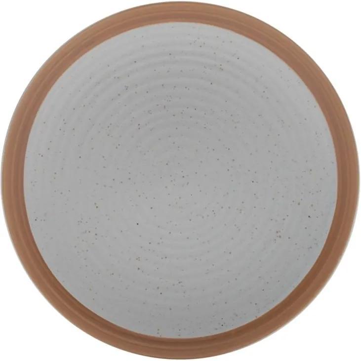 Jogo Pratos Sobremesa De Cerâmica 2 Peças Romance Verde 20,5cm 35391 Bon Gourmet