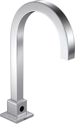 Torneira para Banheiro Mesa com sensor Decalux Quadrada Bivolt a Bateria 1187.C.SLX - Deca - Deca