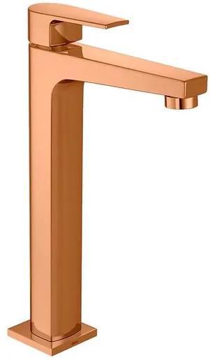 Torneira para Banheiro Mesa Level Red Gold Bica Alta - 1189.GL26.RD - Deca - Deca