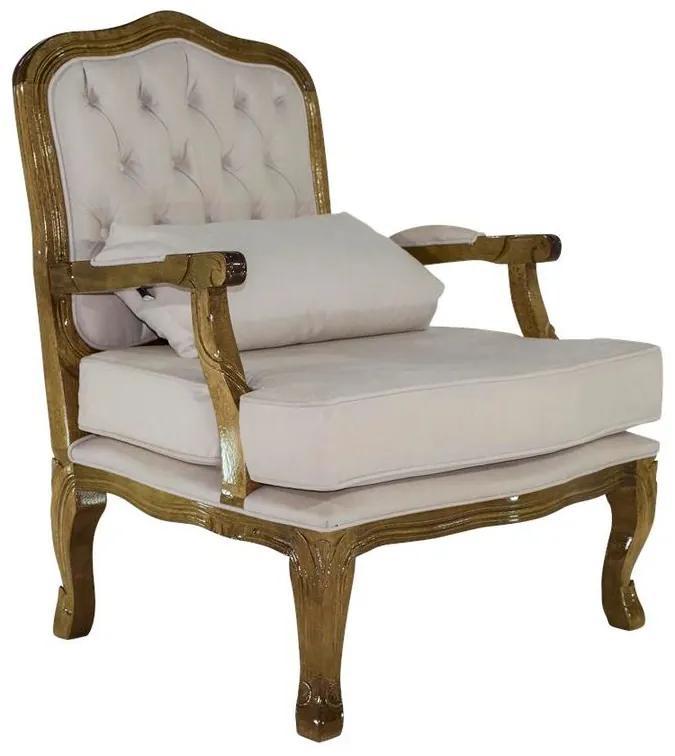 Poltrona King - Wood Prime 14851 Liso