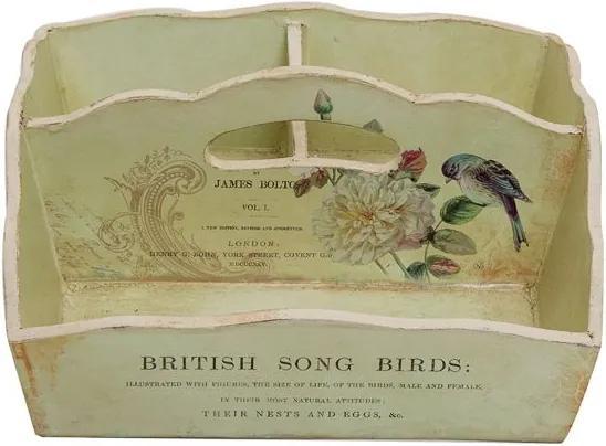 Porta-Objetos Decorativo Song Birds