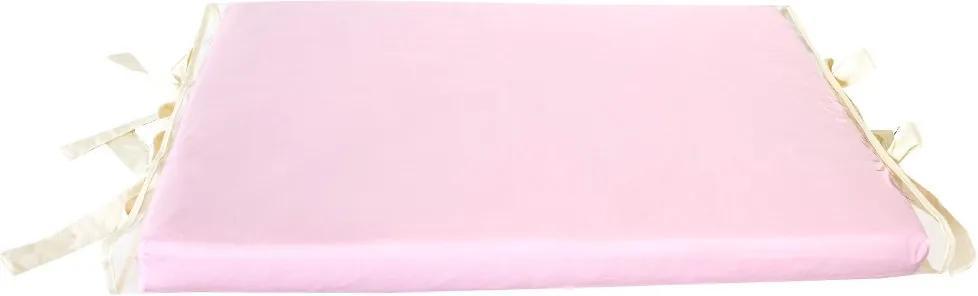 Trocador de Bebê Luxo Rosa