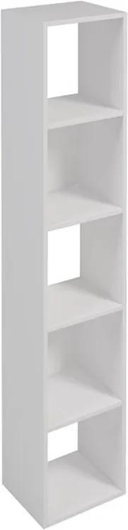 Estante Kacus 150cm C/ 5 Nichos Glatt Branco Textura