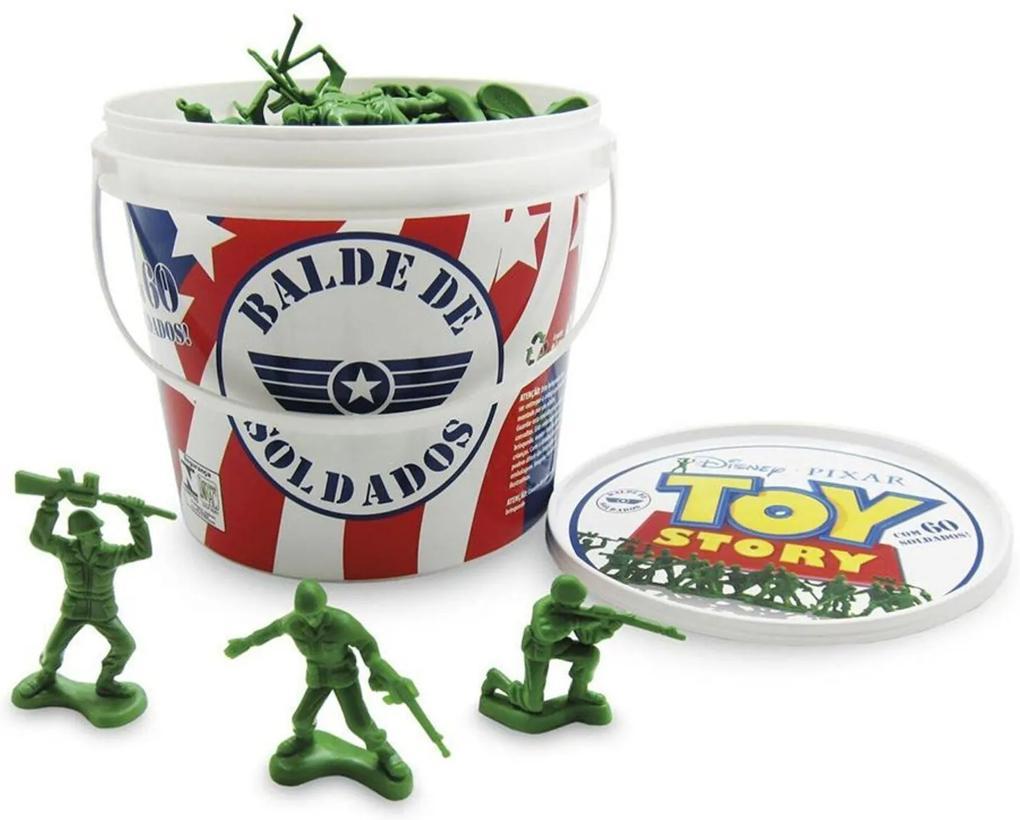 Balde Soldados Toy Story - Toyng