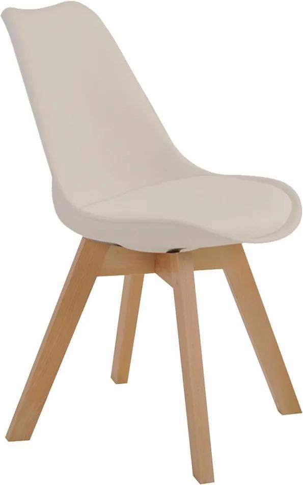 Cadeira Decorativa Sala e Escritório SelfCare (PP) Nude - Gran Belo