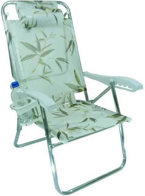 Cadeira de Praia Zaka Up Line, Bambu