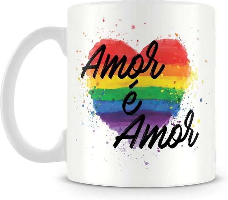 Caneca Personalizada Amor é Amor (Diversidade)