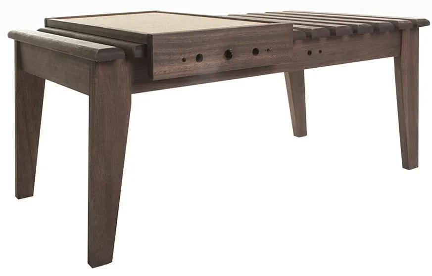 Mesa de Centro Madeira com Bandeja - Wood Prime MR 34620