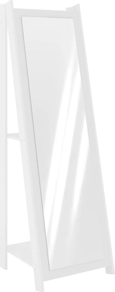 Espelheira Com Prateleira Branco