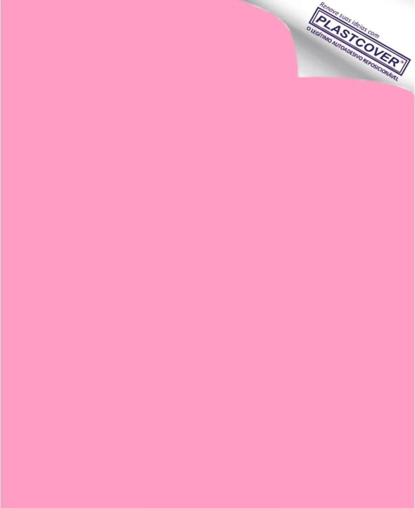 Revestimento Adesivo Rosa Claro 45cm x 10m
