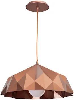 Pendente Origami Cobre