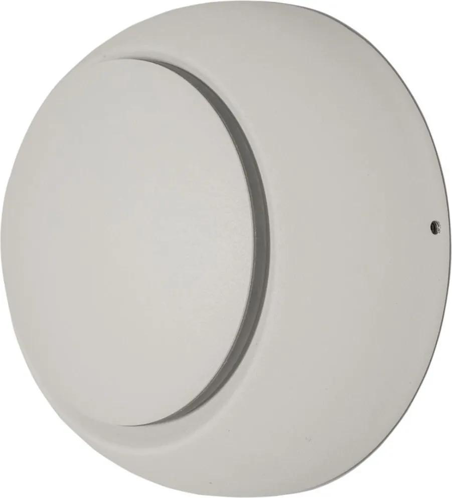 Arandela Metal Branco Led 5w 3000k