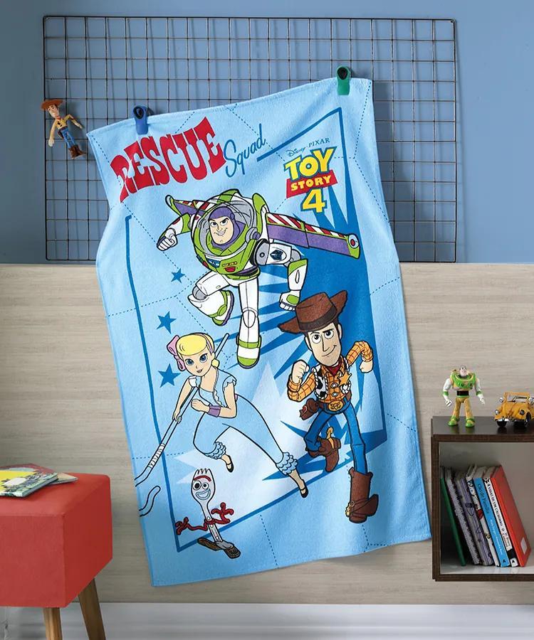 Toalha Banho Döhler Felpudo Licenciado - Toy Story 08