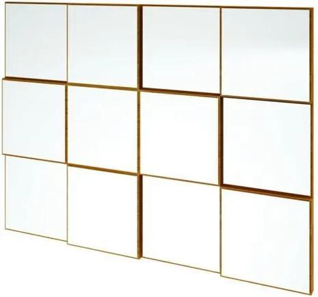 Quadro Espelho Argos Medio 1,00 MT (LARG) cor Freijo - 59690 Sun House